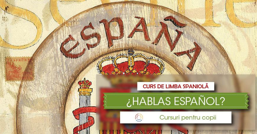 Cursuri de limba spaniolă pentru copii