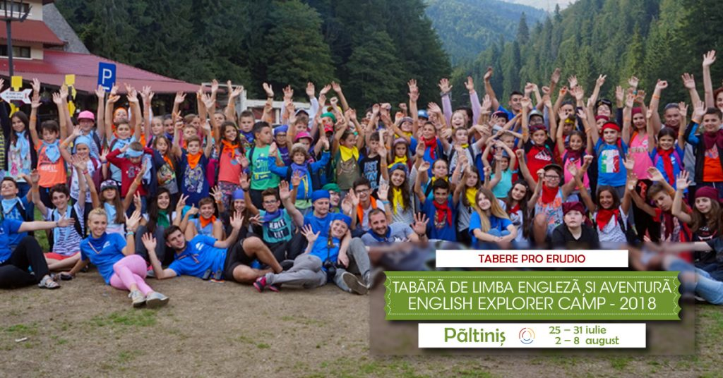 Tabăra de limba engleză și aventură English Explorers Camp