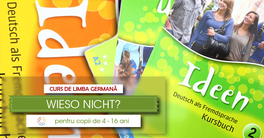 Cursuri de limba germană pentru copii și adolescenți