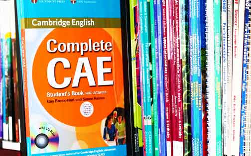 HEAD FOR FCE/CAE