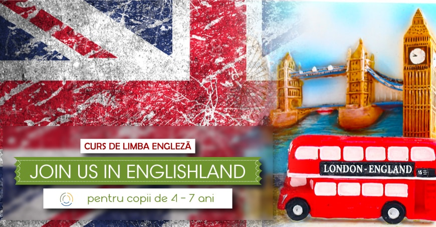 """Curs de limba engleză """"JOIN US IN ENGLISHLAND"""""""