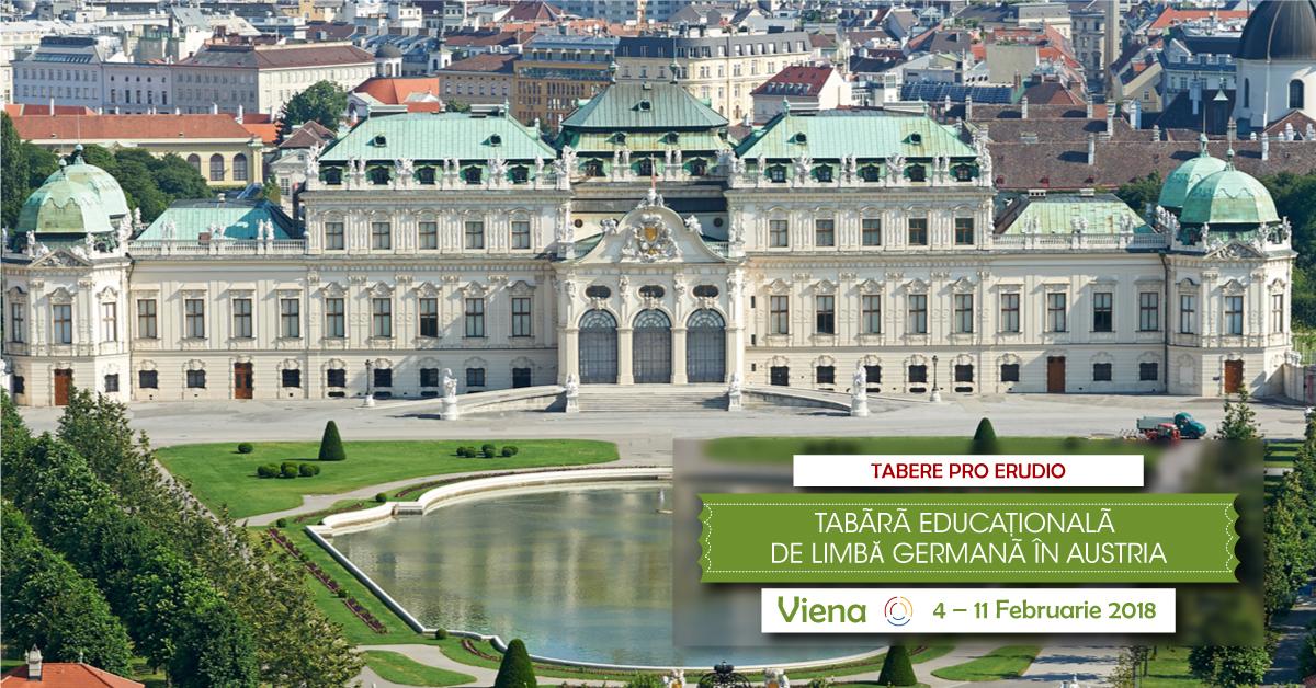 TABĂRĂ EDUCAȚIONALĂ DE LIMBĂ GERMANĂ ÎN AUSTRIA – VIENA