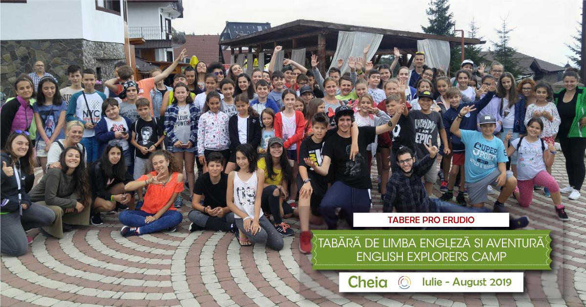 Tabara de limba engleza si aventura in Romania